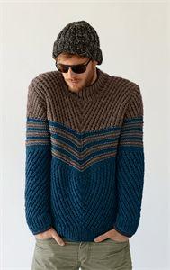 Hat, Scarf & Sweater Knitting Pattern