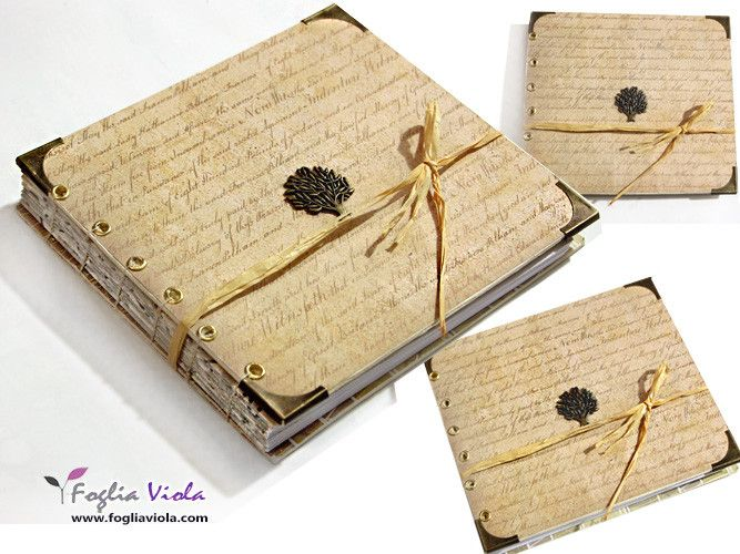 """Poem"" Journal my new work in coptic stitch  www.fogliaviola.com   #bibliophilia #fantasy #handmade #notebook #book #journal #wooden #wood #legno #albero #tree #vintage #nature #elegant #wedding #shabby #matrimonio #art #design #copticstitch"