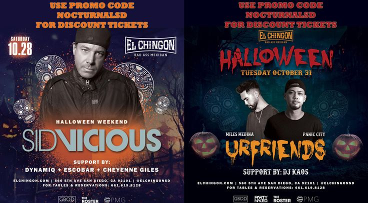 El Chingon Halloween 2017 Ticket Discount Promo Code San Diego Sid Vicious  Looking to check out the newest night club and restaurant in san diego ? Head to El Chingon halloween down in the gaslamp district of San diego .  Check out the top halloween event for 2017 in San Diego the El Chingon Halloween 2017 Ticket Discount Promo Code San Diego Sid Vicious costume party. So purchase your tickets now, vip ticket are also available, check into VIP table discount bottle services. This year try…