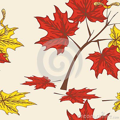 Beautiful tropical seamless pattern of Leaf vector pattern design