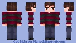 I'M ETHAN BRADBERRY!!! [Gone Bradberry] Minecraft Skin