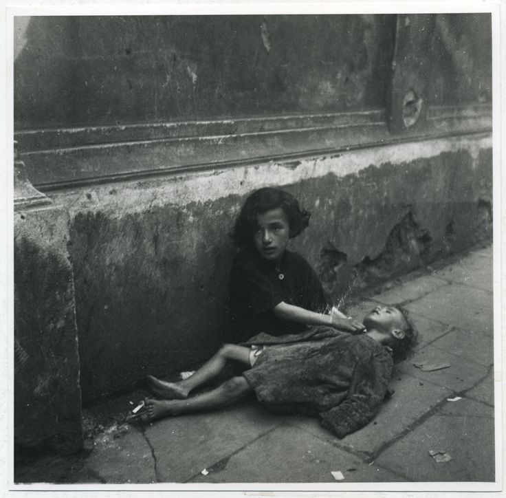 This was childhood in the Warsaw Ghetto . . .beyond human comprehension + Hell on earth.