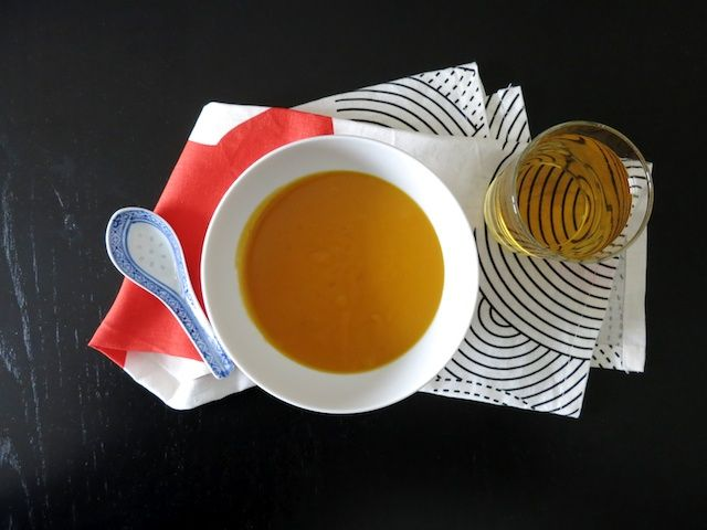 schaeresteipapier: Rezept - Süsskartoffelsuppe