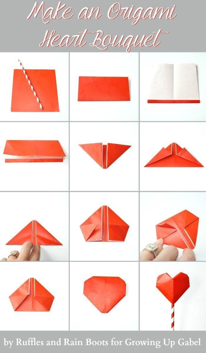 Origami 3d Tutorial 3d Origami Heart Tutorial Handycraft Origami Love Origami Heart Instructions Paper Hearts Origami