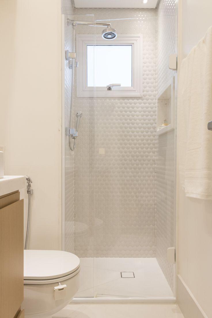 226 best images about Banheiros  Bathrooms  Baños  Cerâmica Portinari on P -> Banheiro Pequeno Cor Clara