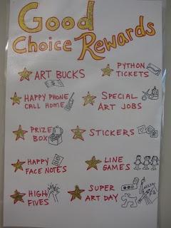 Successful Choice Rewards