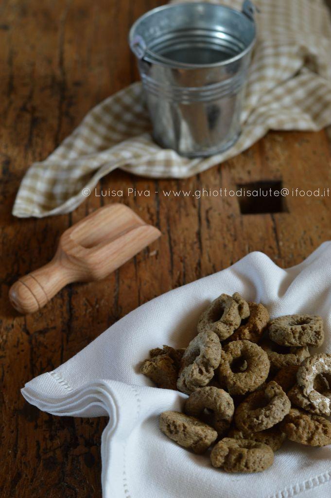 Tarallini al grano arso | Ghiotto di Salute