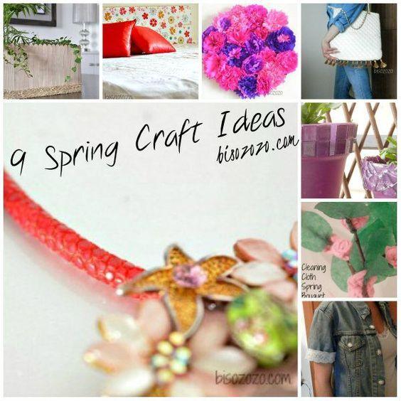 Easy Spring Craft Ideas: