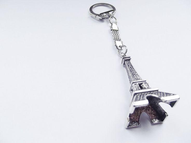 Brelok do kluczy- wieża eiffla duża w barbarella na DaWanda.com