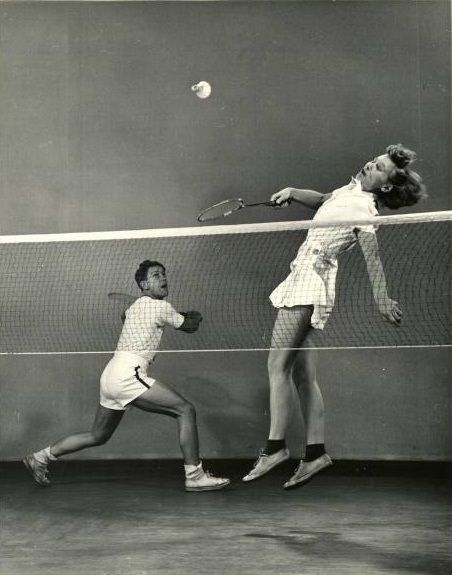 Mili, Gjon (1904-1984) - 1939 Badminton Players