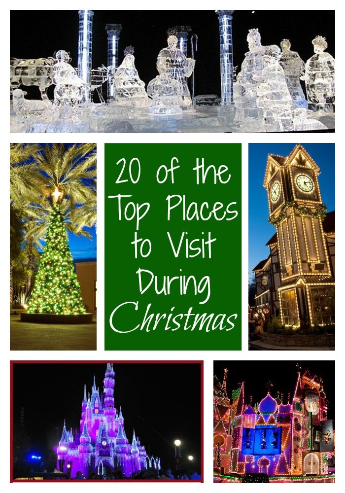 103 best images about vacation family on pinterest for Best places to visit in us during christmas