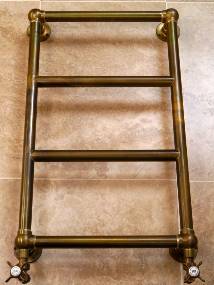 how to use heated towel rail