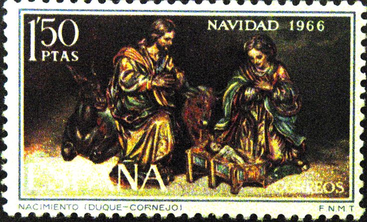 Sellos - Navidad 1966
