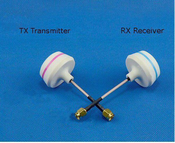 5.8Ghz FPV Mushroom Omnidirectional Antenna TX/RX Set 4 Type         Description: Usage: this DJI 5.8G Mushroom Omnidirectional  Antenna For Transmitter,with the mushroom shell cover, can efficiently protect the antenna from damaged . Direction: all Standing-wave ratio: less than...