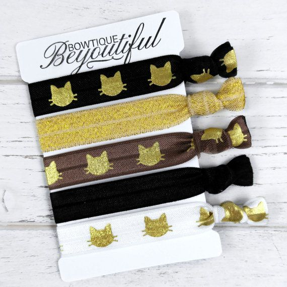 Hey, I found this really awesome Etsy listing at https://www.etsy.com/listing/258860229/cat-hair-tie-set-elastic-hair-ties-hair