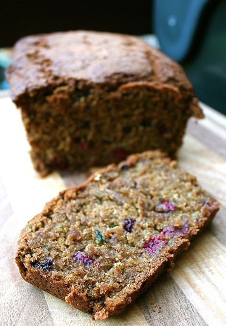 Zucchini Blackberry Bread #vegan