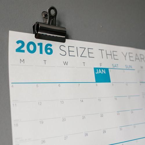 Monday First - Large Wall Calendar
