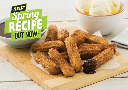 Churros with Chocolate Sauce -Countdown - RECIPES - Recipe