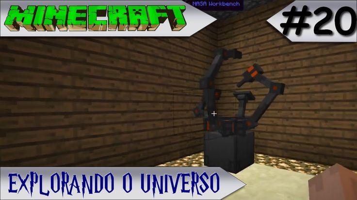 MINECRAFT - EXPLORANDO O UNIVERSO #20 SALA DE MÁQUINAS