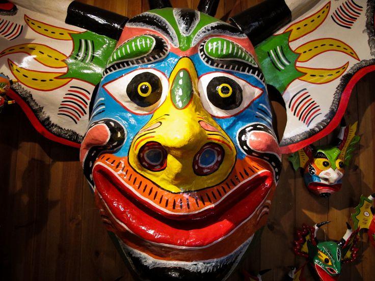 Diablos Danzantes de Yare en máscara, patrimonio de la UNESCO, Venezuela