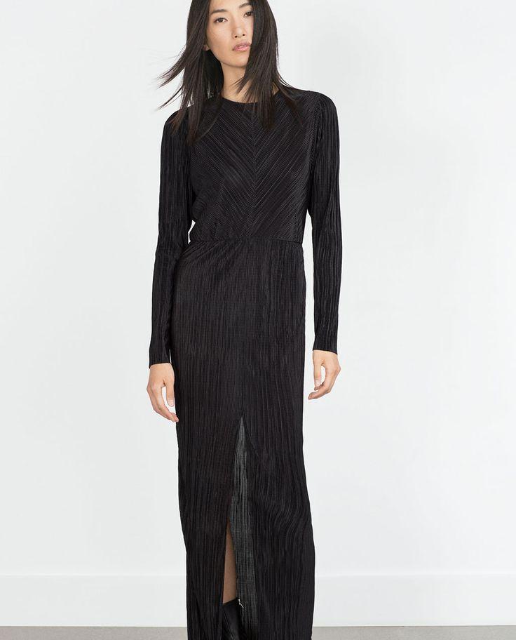 PLEATED DRESS-Woman-NEW IN   ZARA United Kingdom