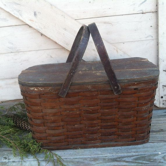 Hey, I found this really awesome Etsy listing at https://www.etsy.com/listing/171154628/victorian-zinc-lined-picnic-basket
