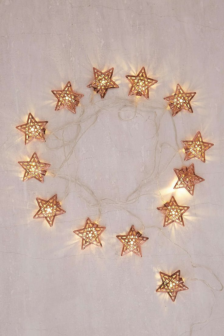 Copper Star String Lights : Best 25+ Starry string lights ideas on Pinterest Copper wire fairy lights, Christmas lights ...