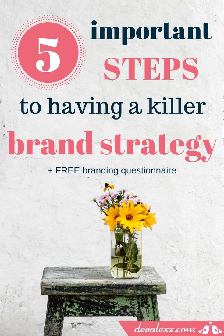 Everything you fight for, everything you do for your business, needs to be under the same cohesive brand strategy. Take your branding to a new level and use this free branding questionaire to boost your business!