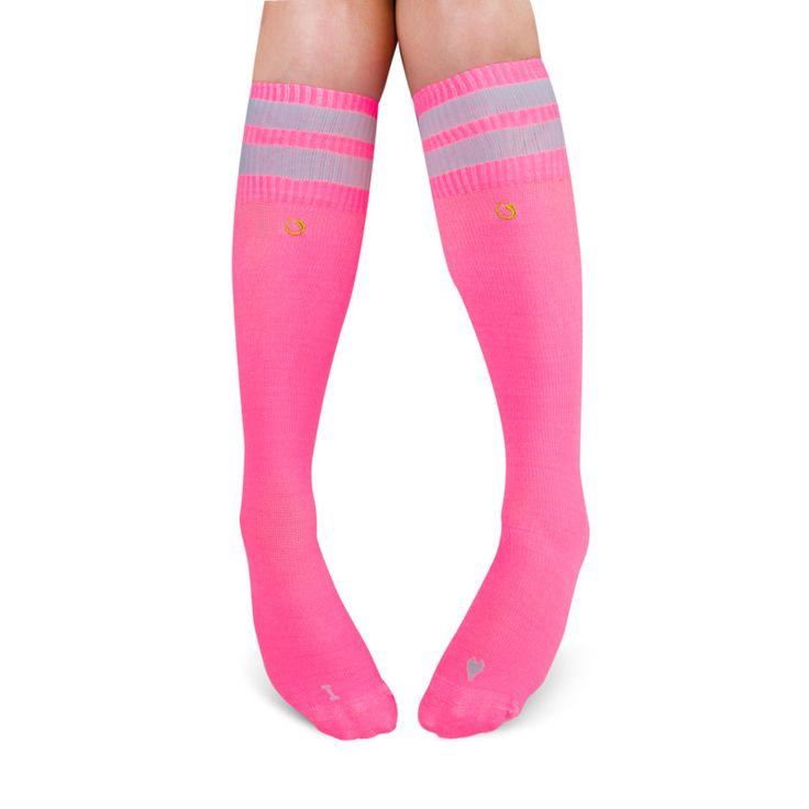 Be pink and beautiful. The health benefits of Compression Socks.