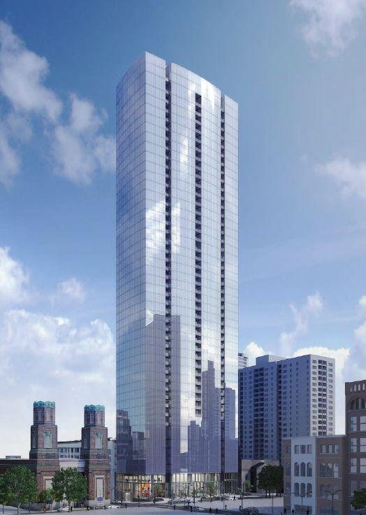 505 Building Future Tallest In Nashville Will Start Being