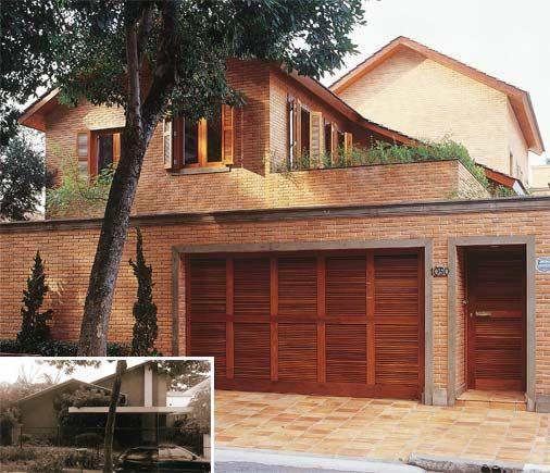 casas com fachadas de tijolo a vista                                                                                                                                                                                 Mais