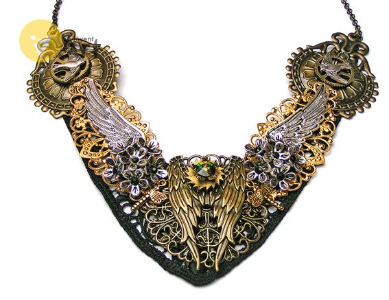 Angel Wings necklace by Invent-Art