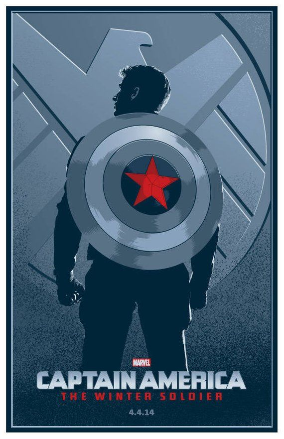 Captain America The Winter Soldier Etsy Captain America Winter Soldier Captain America Wallpaper Marvel Captain America
