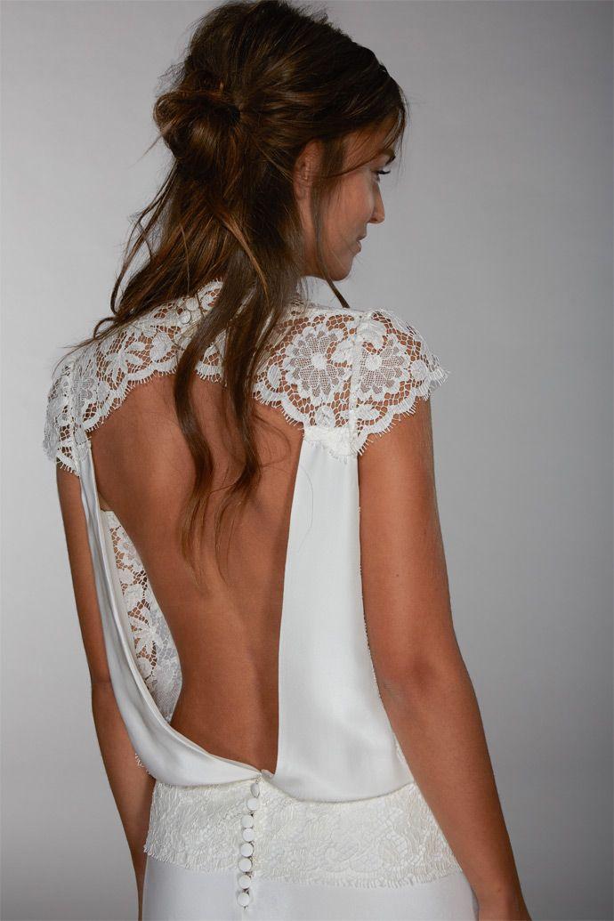 Les robes de mariée de Fabienne Alagama - Collection 2016 | Modèle : Paula | Crédits : Fabienne Alagama | Donne-moi ta main - Blog mariage