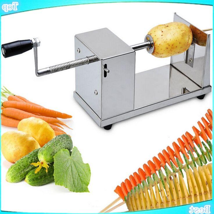 Les 25 meilleures id es de la cat gorie tornado potato machine sur pinterest pomme de terre en - Machine a chips maison ...