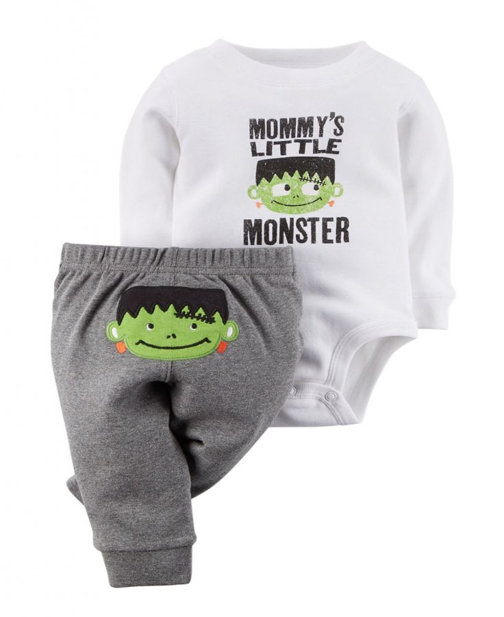 Stylish Carter's Baby Boys' Halloween 2-piece Bodysuit & Pant Set – Baby Halloween Outfits