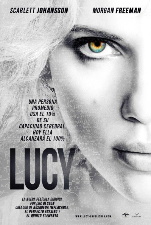 Lucy Movie Poster / Affiche #3 - Internet Movie Poster Awards Gallery