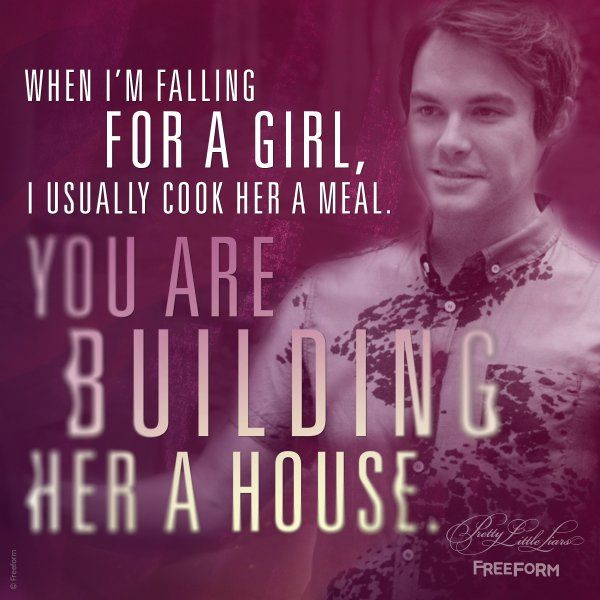 "S6 Ep14 ""New Guys New Lies"" - Caleb has the quote of the night! #PrettyLittleLiars"