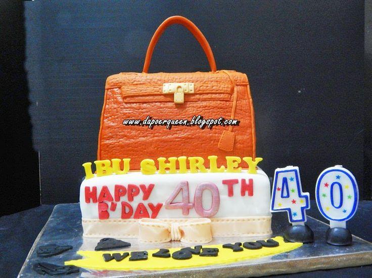 Dapoer Queen: 3D Hermes Kelly handbag Cake