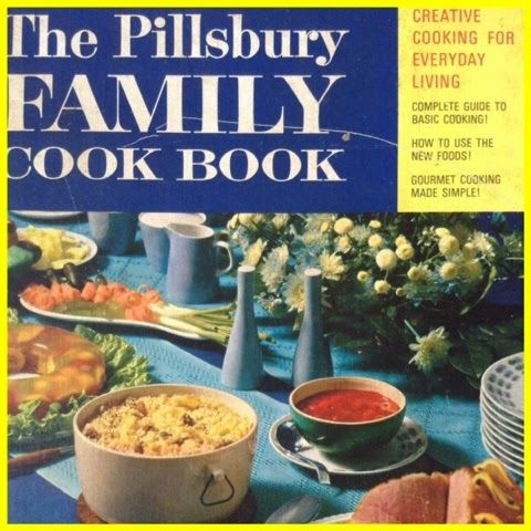 Vintage Recipe Book - The Pillsbury Family Cook Book