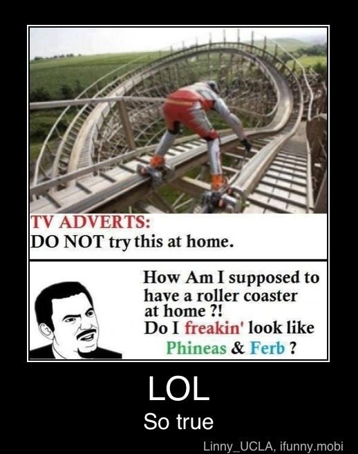 Oh, yeah, let's just go build a roller coaster and ride down it with inline skates.  Genius.