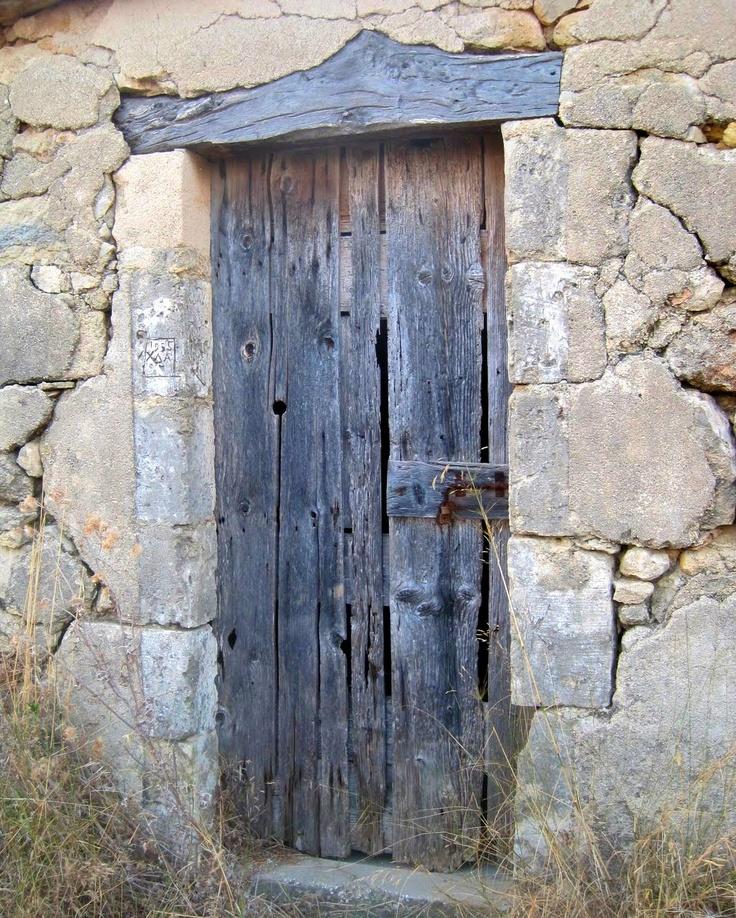 Old door on property