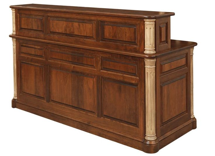 Amish Jefferson Transitional Reception Desk