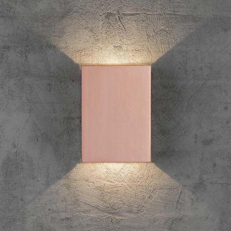 Nordlux DFTP Fold Copper LED Outdoor Wall Light - Outdoor Lighting - Lampsy