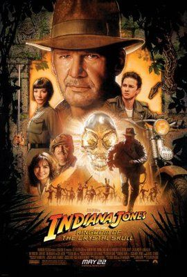 Indiana Jones and the Kingdom of the Crystal Skull (2008) movie #poster, #tshirt, #mousepad, #movieposters2