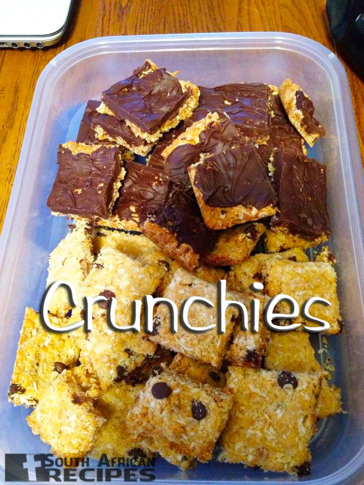 South African Recipes Crunchies (Tracey Gobel Allen)