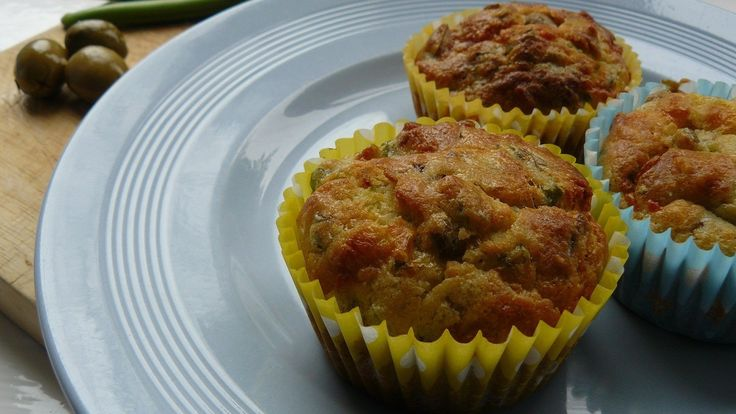 Sweet and savoury muffins