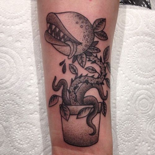 little shop of horrors tattoos