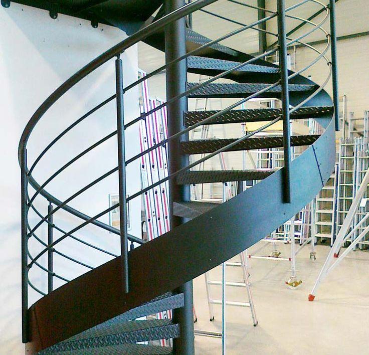 Escalier colimaçon métallique GDMETAL - Escaliers - LEchelle ...