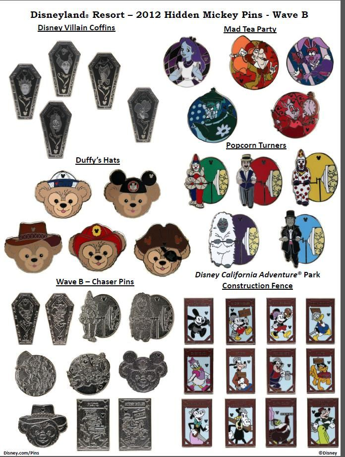 Checklist Hidden Mickey Pins   collectors board quality of t cached hidden hidden mickey completer